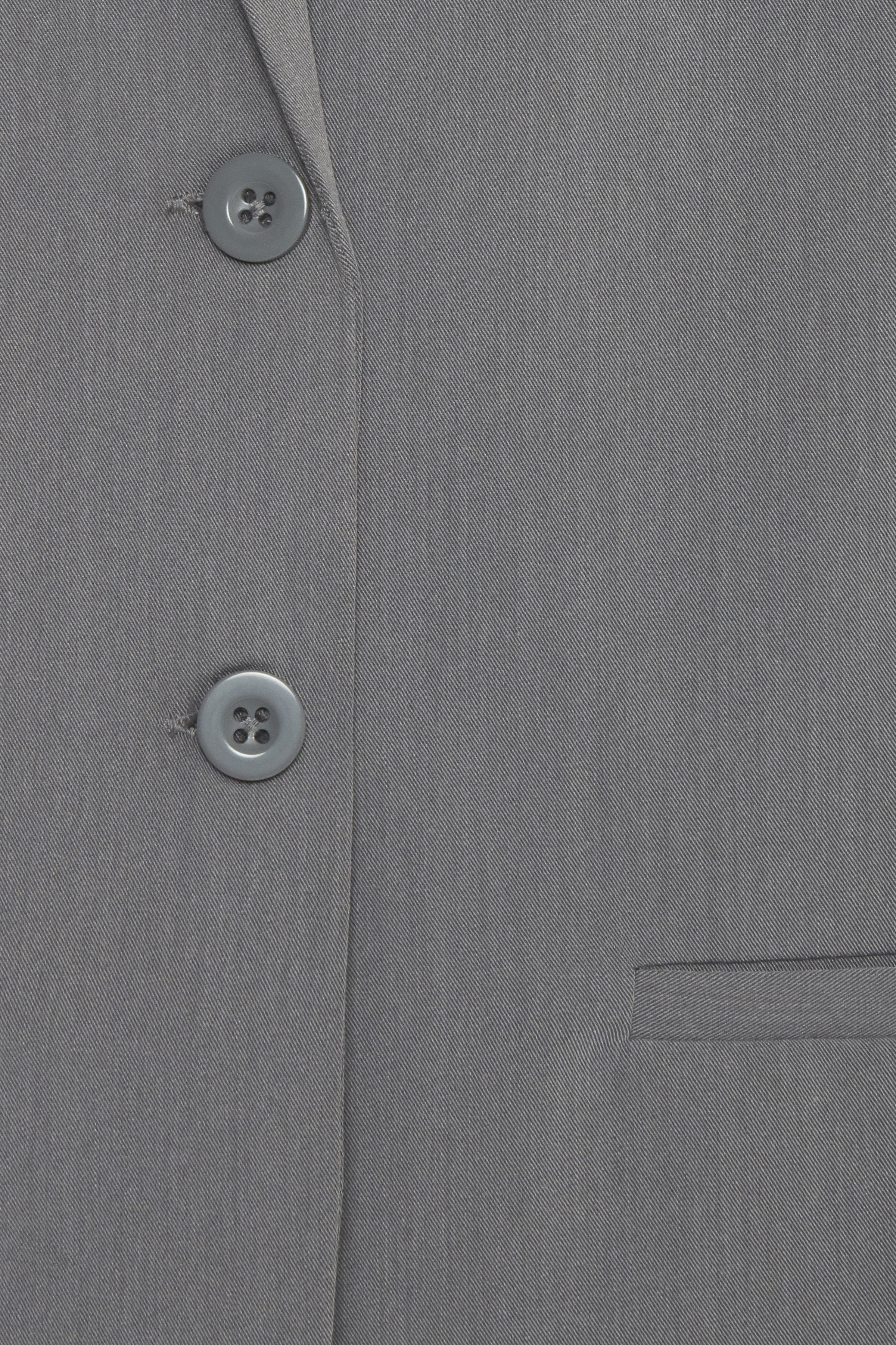 Asphalt melange Blazer – Køb Asphalt melange Blazer fra str. 34-46 her