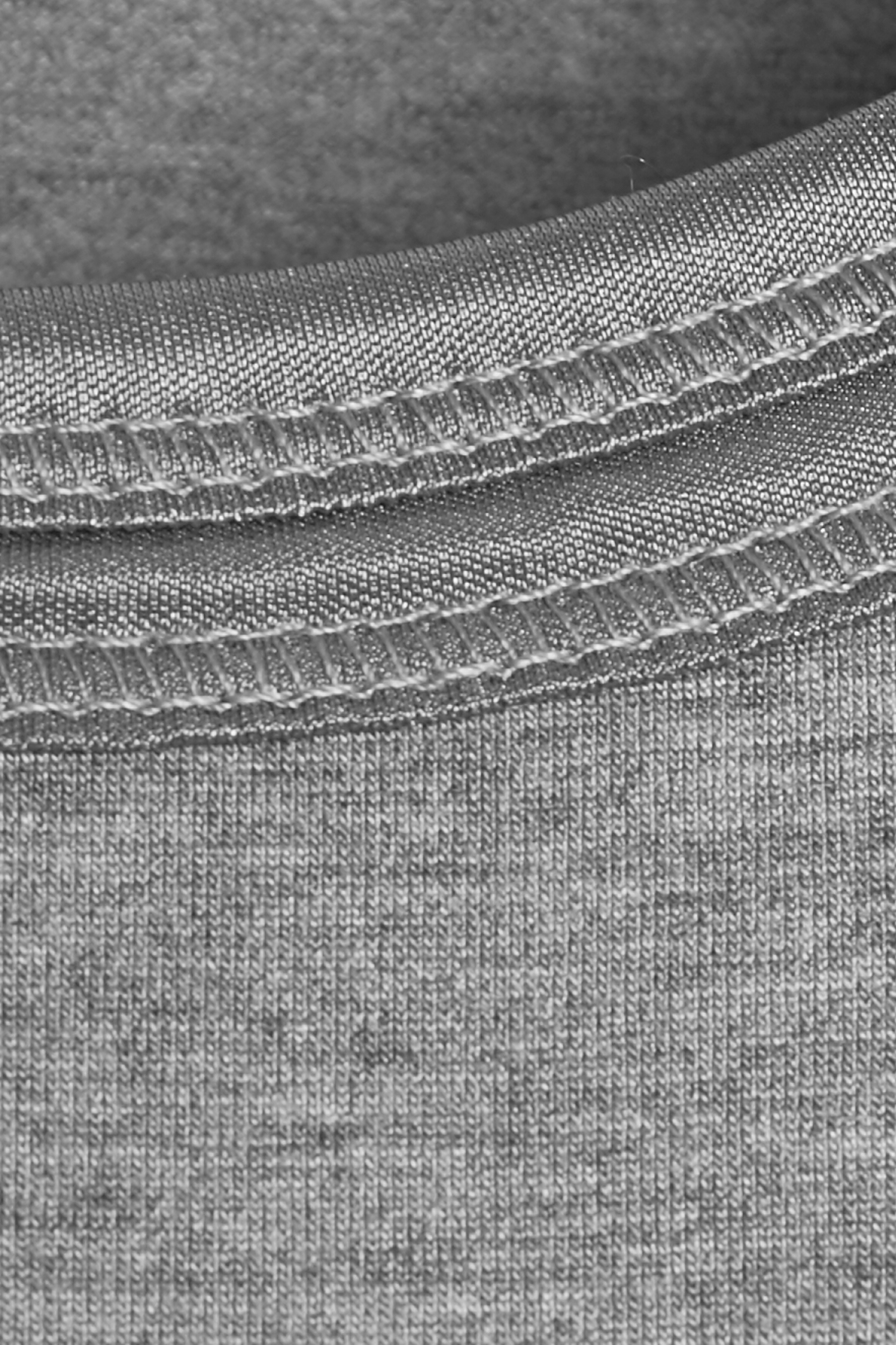 Asphalt melange Jerseytop – Køb Asphalt melange Jerseytop fra str. XS-XXL her