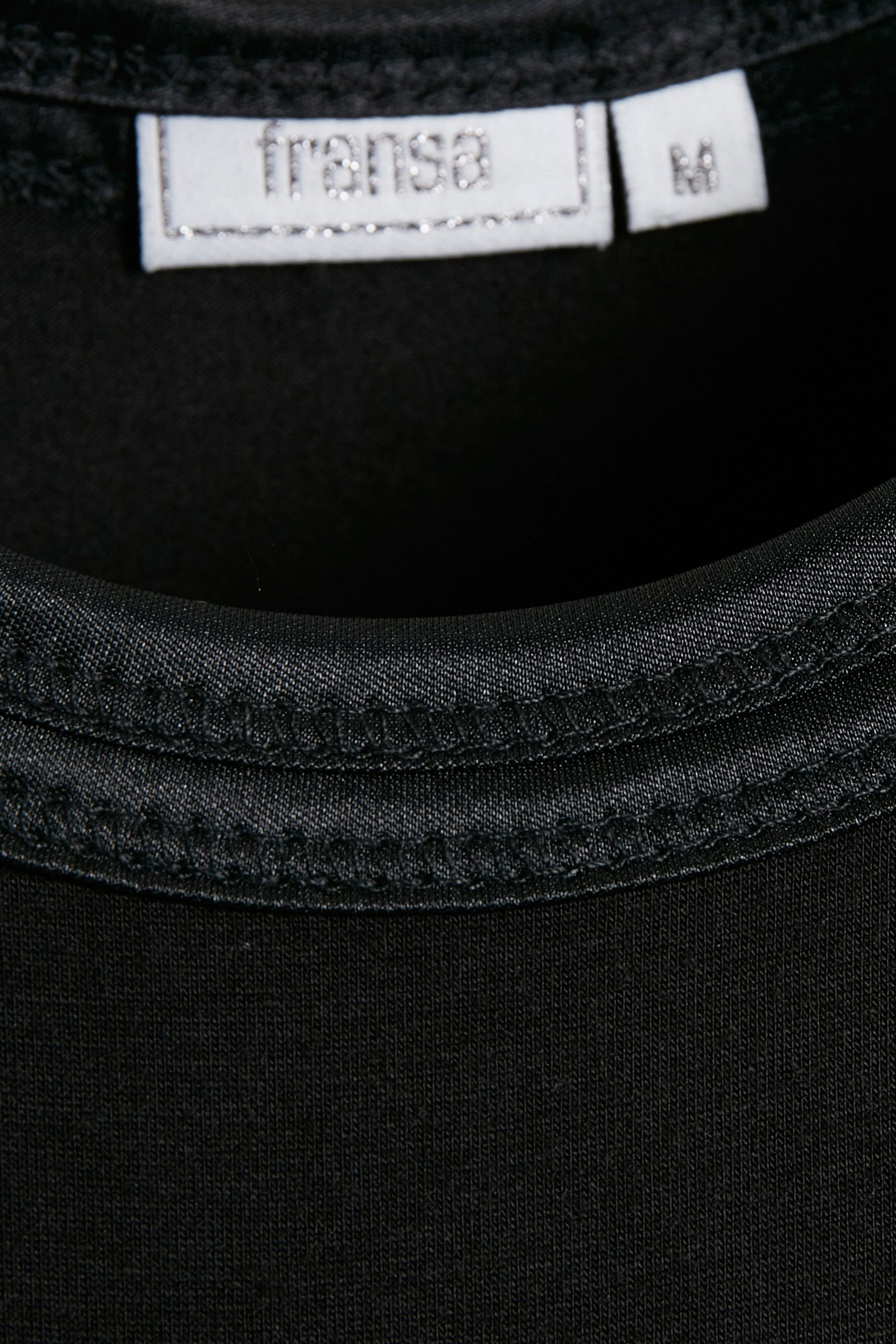 Black Jerseytop – Køb Black Jerseytop fra str. XS-XXL her