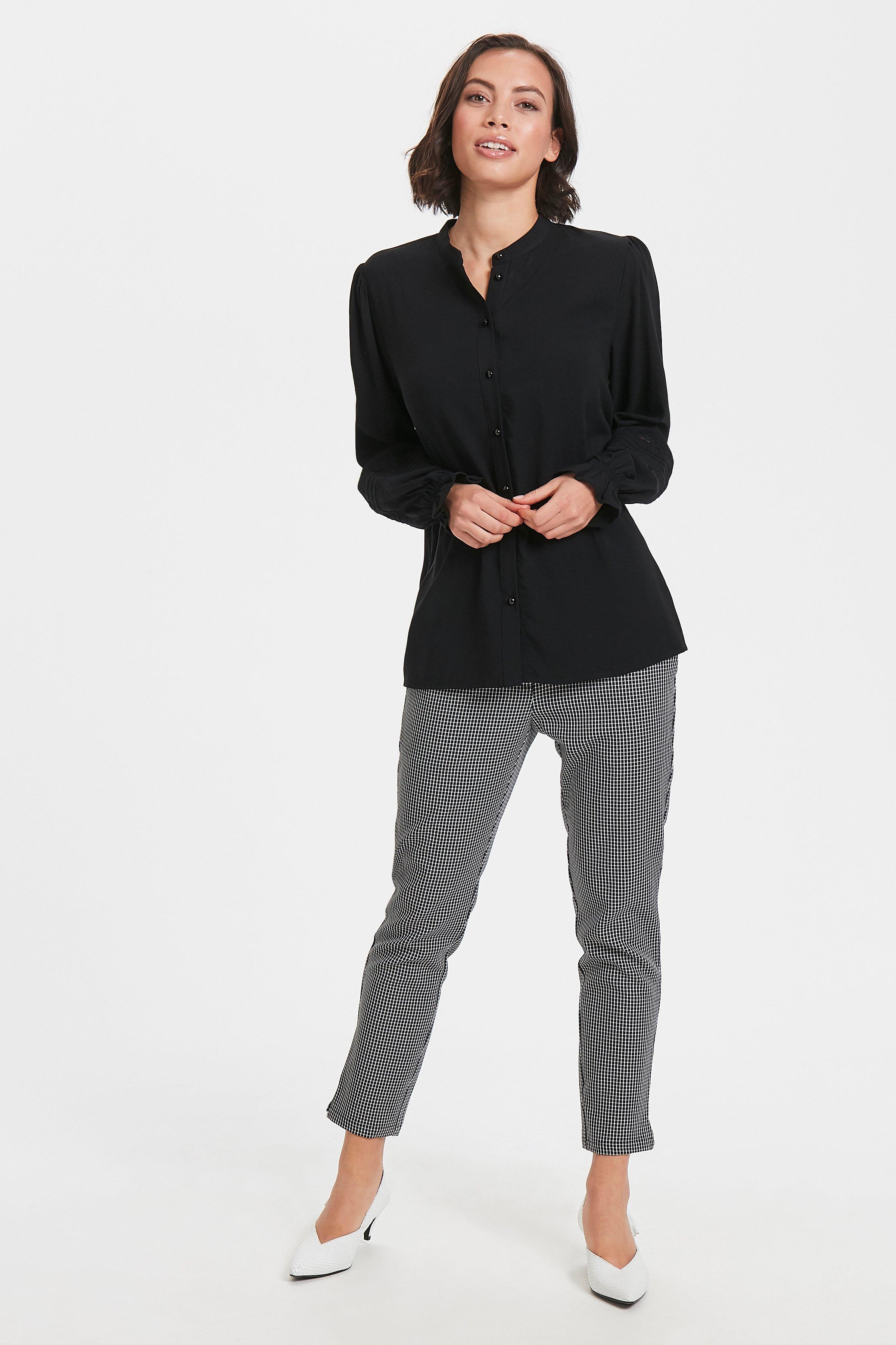 Black Langærmet bluse – Køb Black Langærmet bluse fra str. XS-XXL her