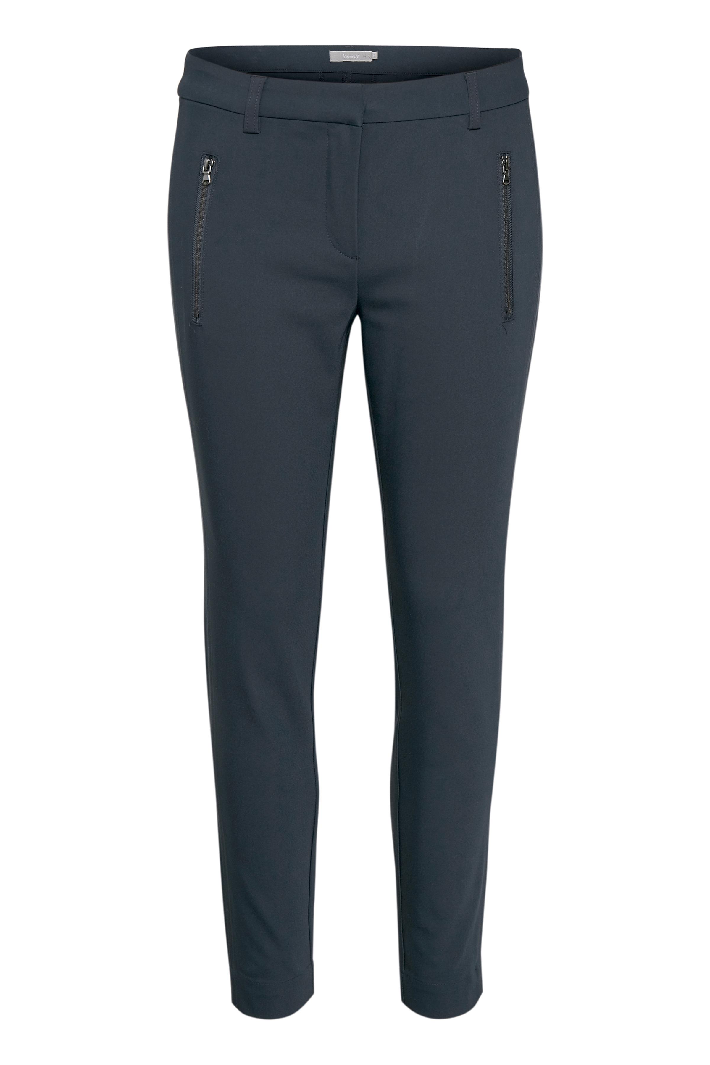 Dark Peacoat Pants Suiting – Køb Dark Peacoat Pants Suiting fra str. 34-46 her