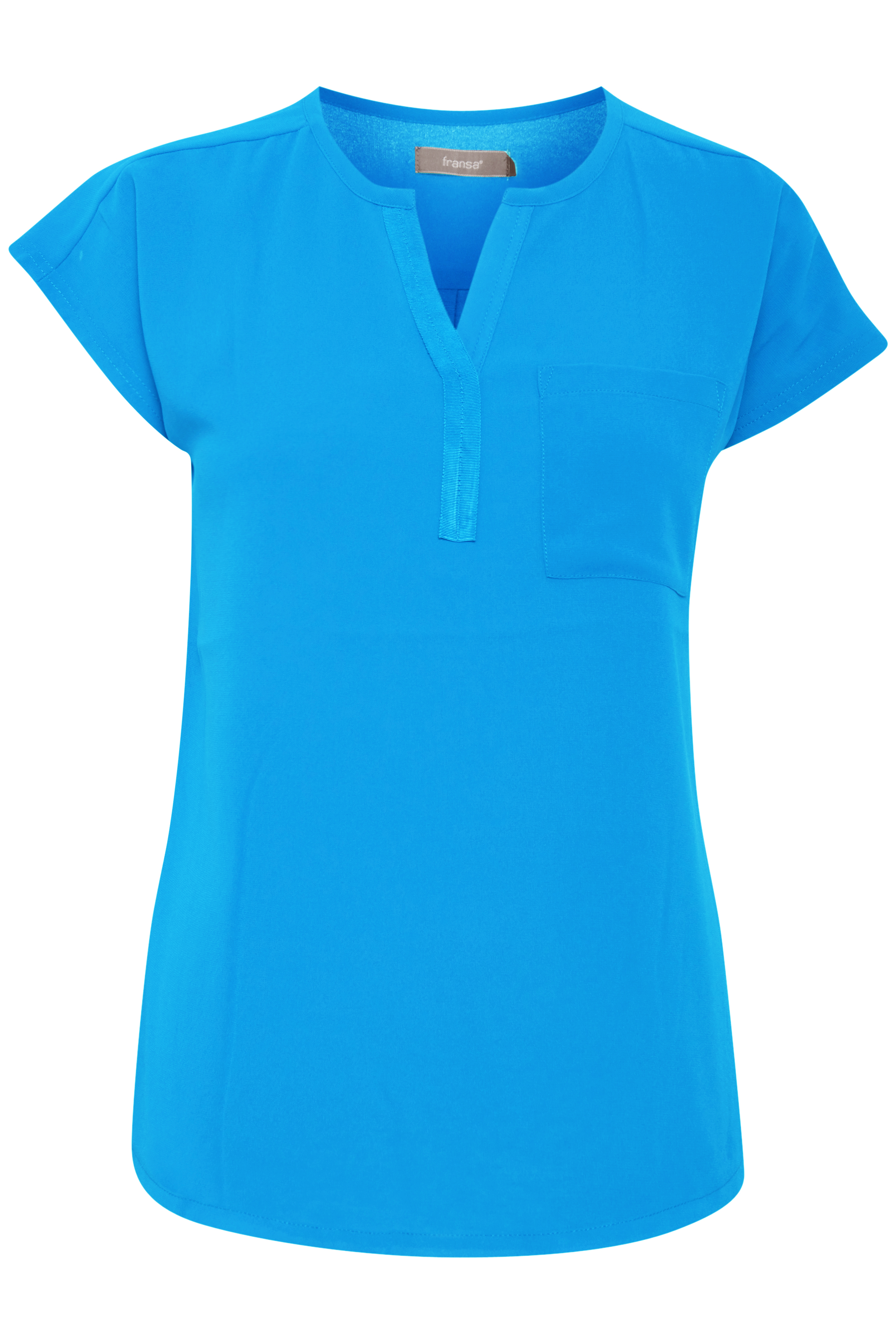 Marina Kortærmet bluse – Køb Marina Kortærmet bluse fra str. S-XXL her