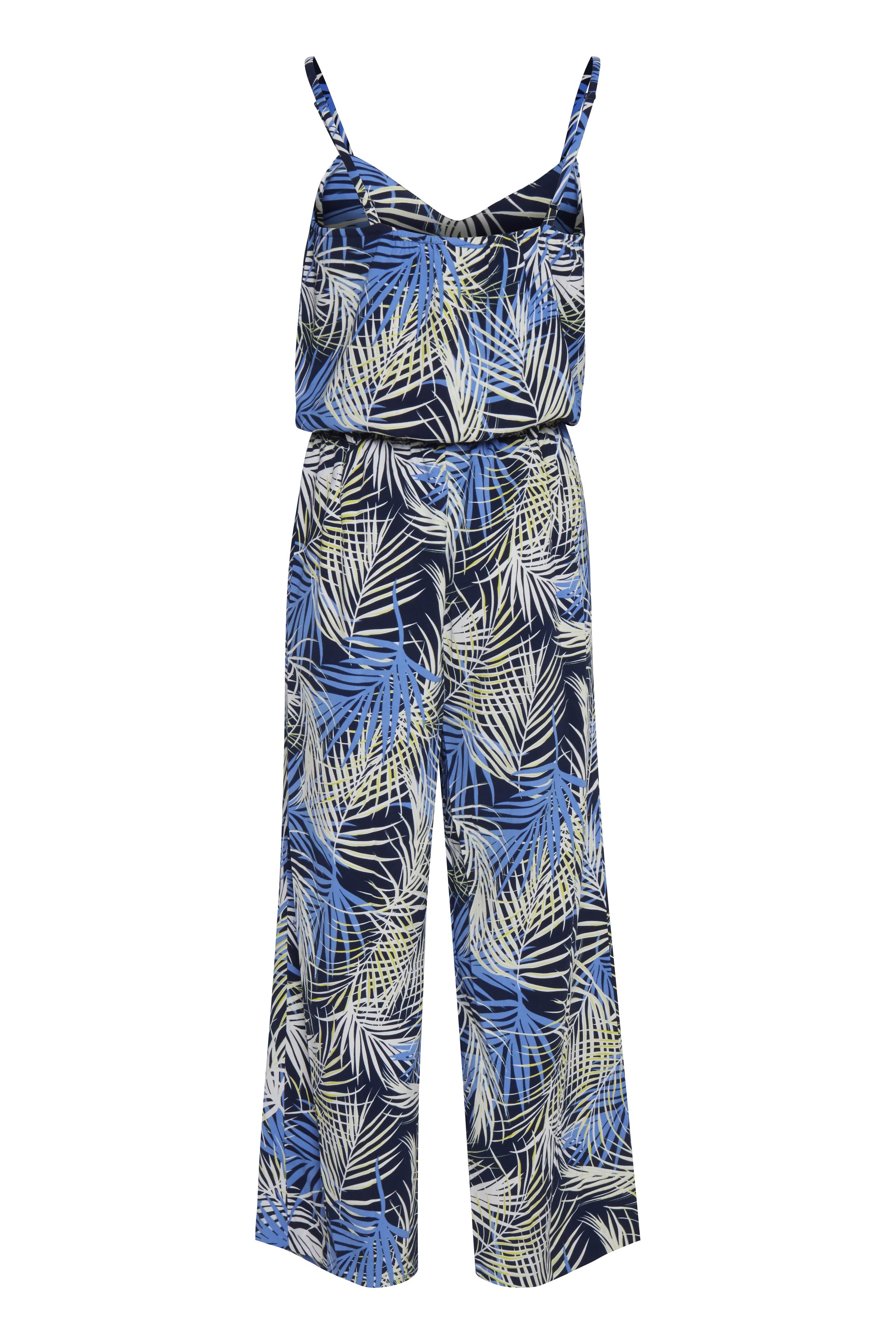 Maritime Blue mix Jumpsuit – Køb Maritime Blue mix Jumpsuit fra str. XS-XL her