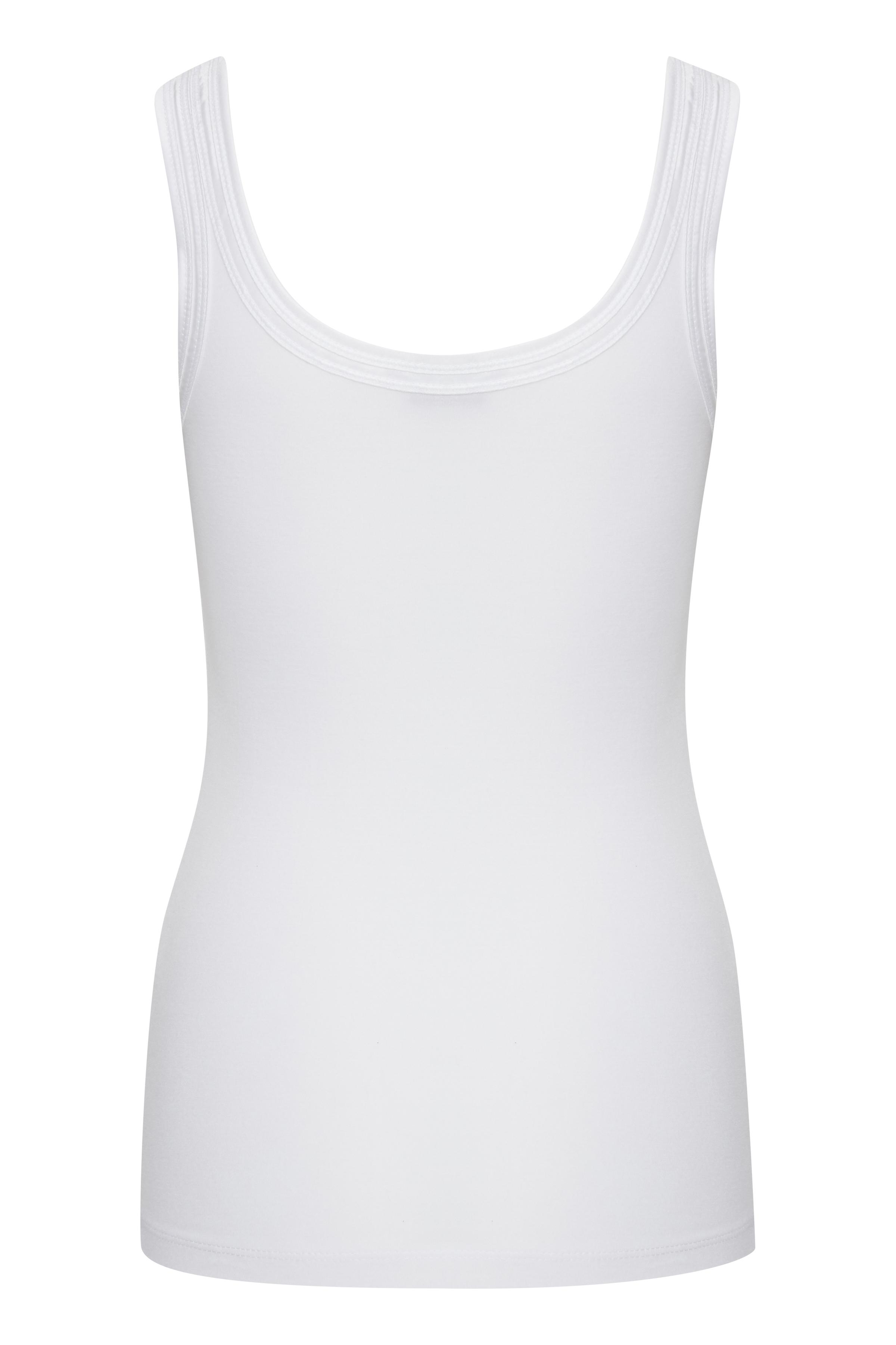 White Jerseytop – Køb White Jerseytop fra str. XS-XXL her